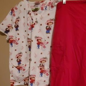 Uniform scrubs
